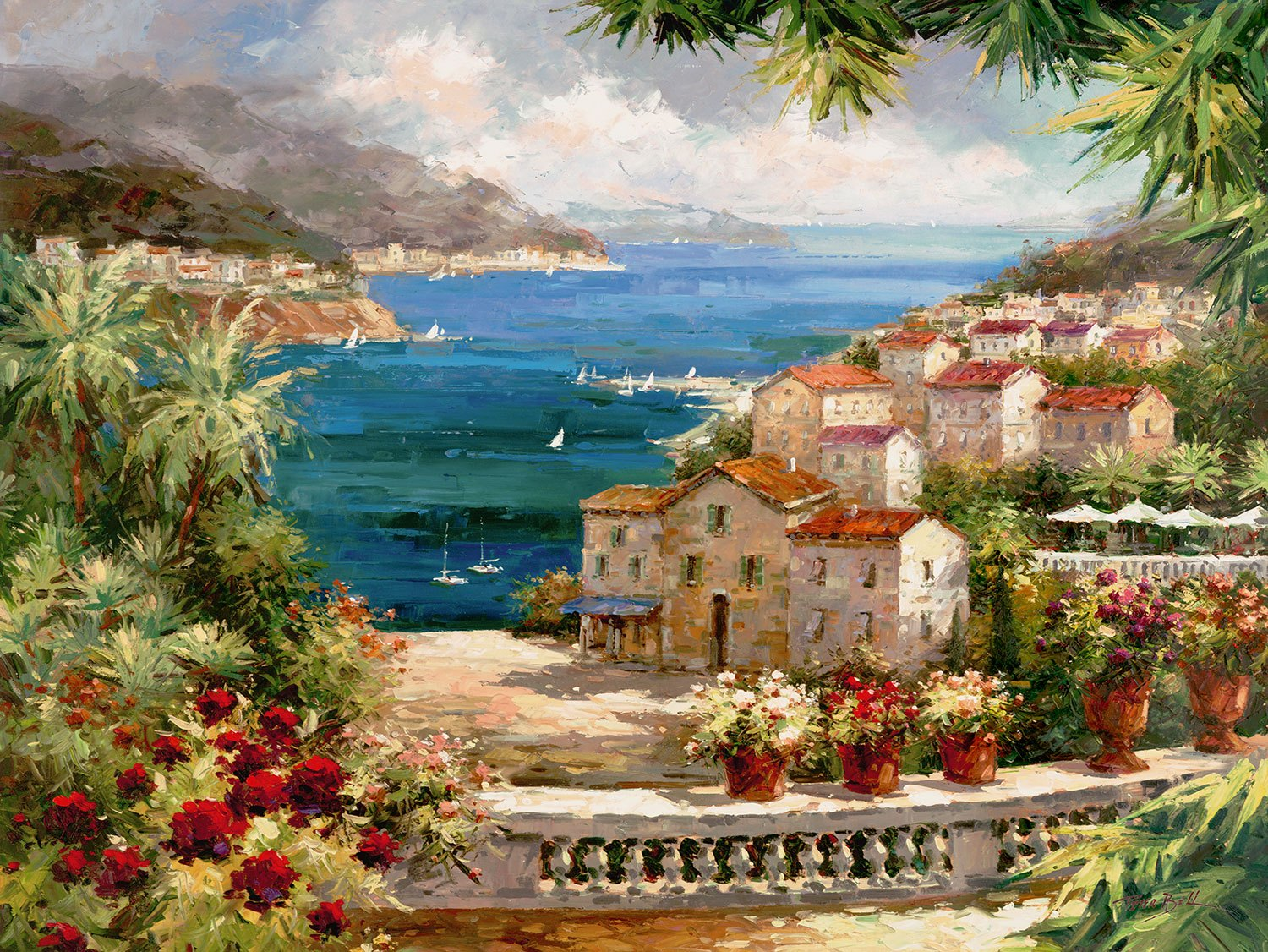Fototapeten: Harbor Vista (Peter Bell)