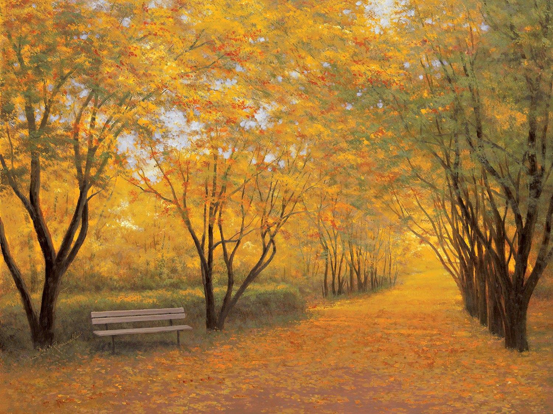 Fototapeten: Golden Autumn (Diane Romanello)