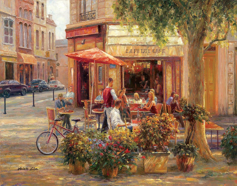 Fototapeten: Cafe Corner, Paris (Haixia Liu)