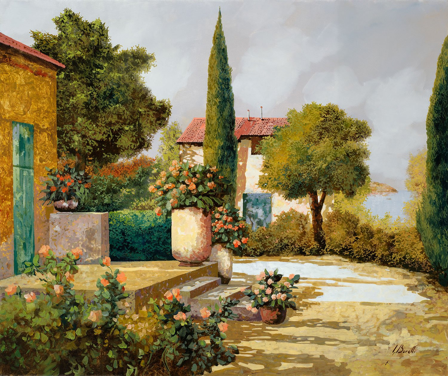 Fototapeten: The cypress (Guido Borelli)