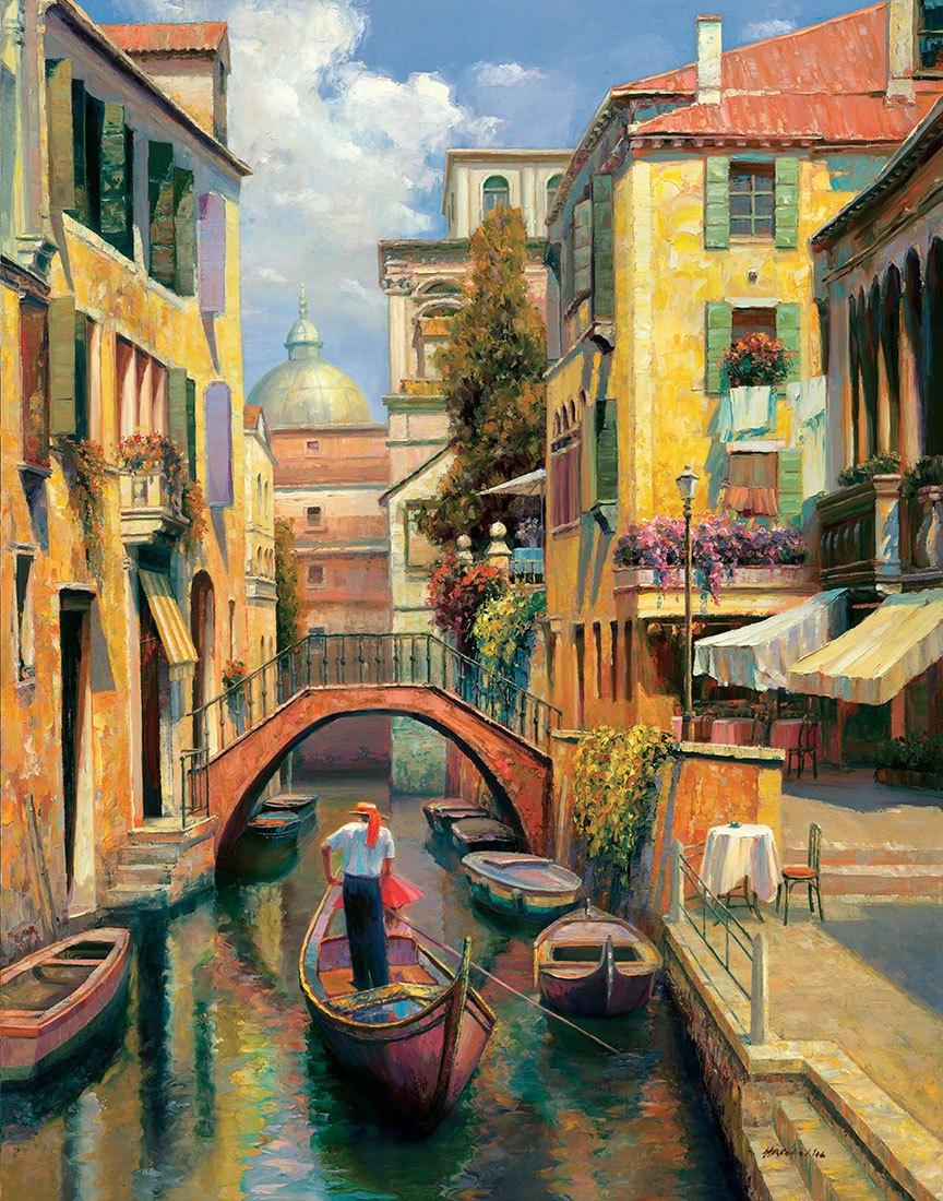 Fototapeten: Sunday in Venice (Haixia Liu)