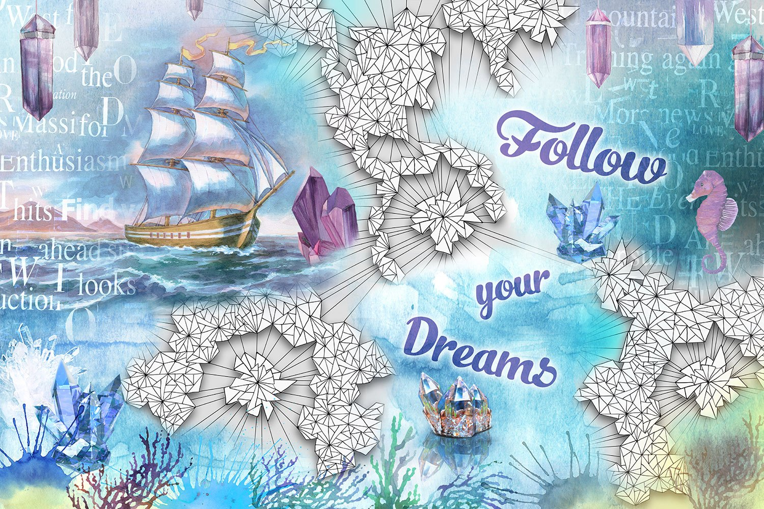 Fototapeten: Follow you dreams